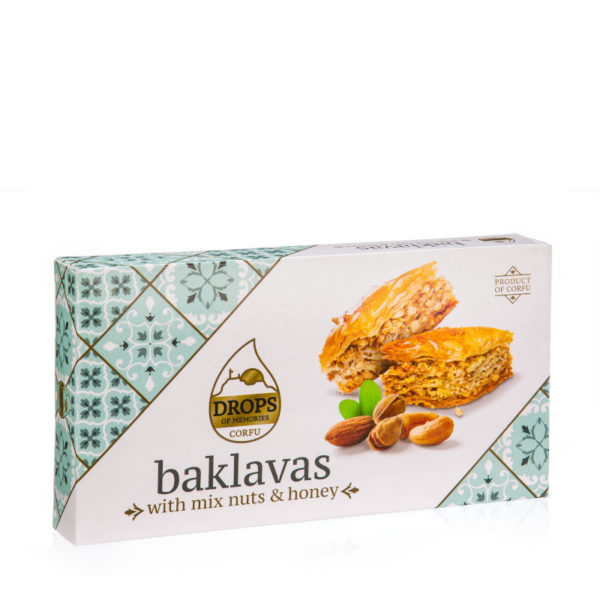baklava mix nuts