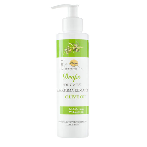 body cream with olive oil