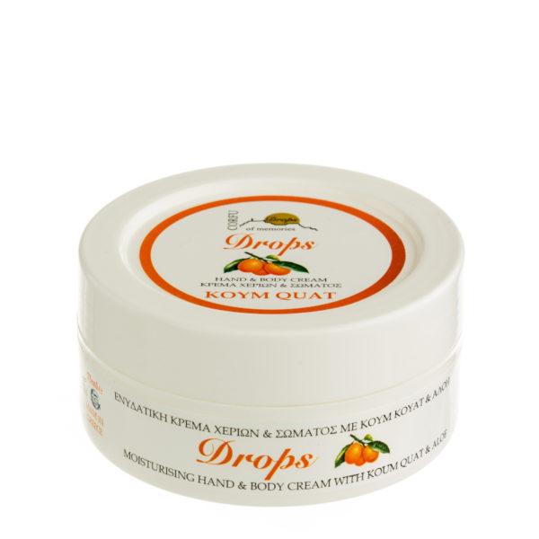 hand cream with kum quat