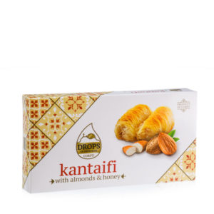 Kantaifi with Almonds