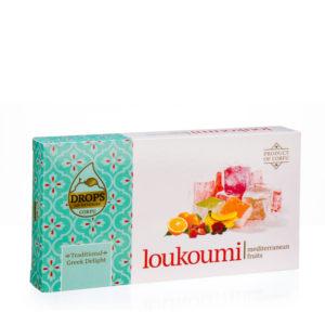 loukoumi meditteranean fruits